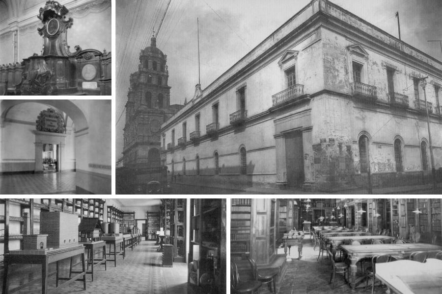 Colegio del Estado, ubicado en el Edificio Carolino